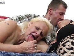 ميريلا يحصل نائب الرئيس مقطع فيديو سكسي فرنسي في صاحبة الهرة على الأريكة البرتقال